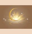 islamic greeting ramadan vector image