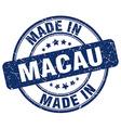 made in Macau vector image vector image