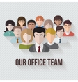 People avatars group icon vector image