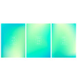 set abstract gradient bg holographic vector image