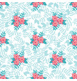 spring floral seamless pattern background vector image