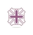 Symbol hospital plus medical icon abst