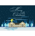 Happy New Year card or poster vector image