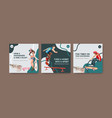 ads template with skateboard design concept vector image vector image