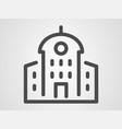 building icon sign symbol vector image vector image