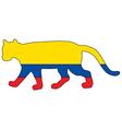 Cougar Ecuador vector image vector image