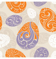 graphic eggs background vector image vector image