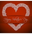 Happy Valentiness Day vector image vector image