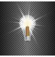 lamp a candle vector image vector image