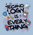 set technology patches data information vector image