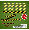 Under construction set vector image vector image