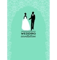 Wedding Invitations vector image vector image