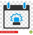 Alert Calendar Day Eps Icon vector image vector image