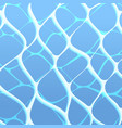 blue awter rippled surface texture backdrop vector image