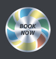 book now button order purchase buy vector image