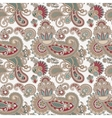 digital drawing ornate seamless flower paisley vector image