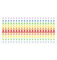 doctor shape halftone spectral effect vector image vector image