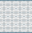 monochrome geometric graphic pattern vector image vector image