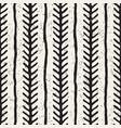 seamless geometric pattern monochrome black vector image
