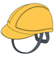 set of safety helmet vector image vector image