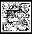 street art graffiti vector image vector image
