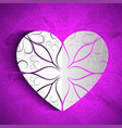 valentines day amorous background vector image
