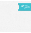white paper realistic paper seamless vector image vector image