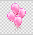 3d realistic colorful balloon holiday