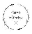 arrow half mood hand drawn set arrows collection vector image