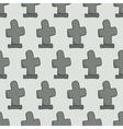 headstones seamless pattern vector image vector image