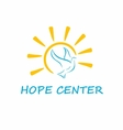 Hope Center Logo vector image vector image