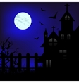 Moon night vector image vector image