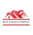 real estate home sales icon vector image