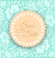 Save the Date Card vector image vector image