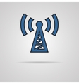 Transmitter icon vector image