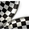 Zipper checkered vector | Price: 1 Credit (USD $1)