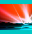 abstract nature landscape backdrop colorful vector image