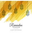 abstract ramadan kareem watercolor background