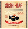 Asian Food Poster vector image vector image