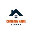 home estate residence house logo icon vector image
