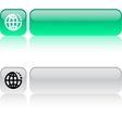 internet web button vector image vector image