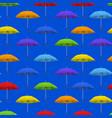 realistic detailed 3d color blank umbrella vector image vector image