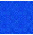 repeating circle mosaic pattern - background vector image vector image