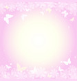 abstract spring summer background in light pink vector image vector image