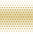 Gold Pattern 1 vector image vector image