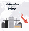 Oil and Petroleum Prices vector image