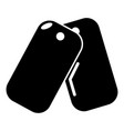 paintball sport badge icon simple style vector image vector image