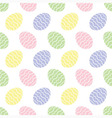 background seamless - Easter eggs vector image vector image