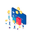 cashback rewards and loyalty program concept vector image vector image