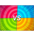 colorful versus bright composition vector image vector image